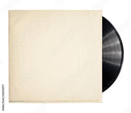 Leinwanddruck Bild Vinyl record