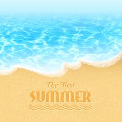 Summer Background. Vector Illustrartion