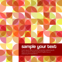 Modern Geometric Abstract Vector Background