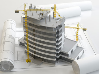 Construction project 3D