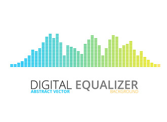 Graphic equalizer background