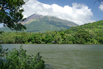 Paysage au Nicaragua