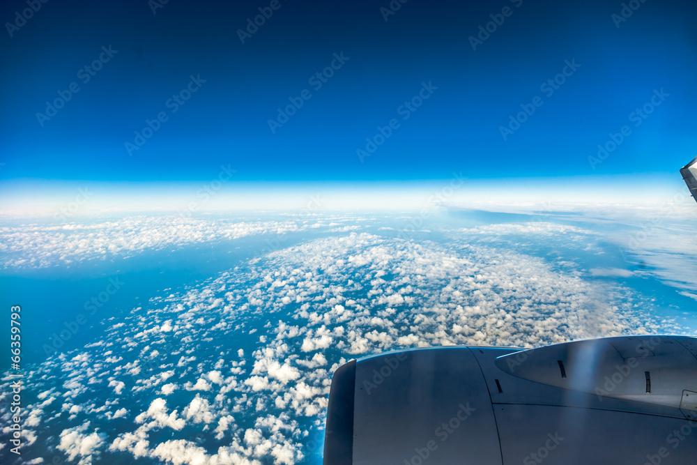 samolotem powietrze niebo - powiększenie