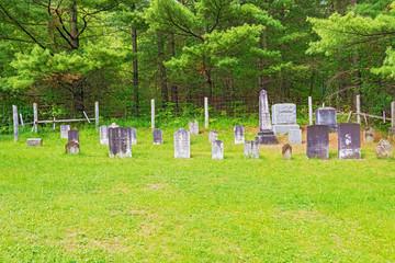 Mennonites cemetery in Kitchener, Ontario