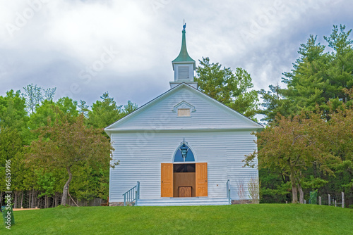 Old Mennonite church in Kitchener, Ontario