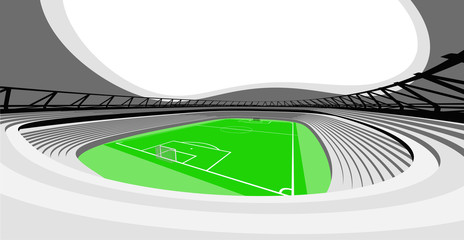 football stadium auditorium view design of my own
