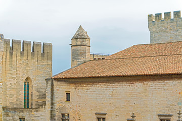 Popes palace Avignon France