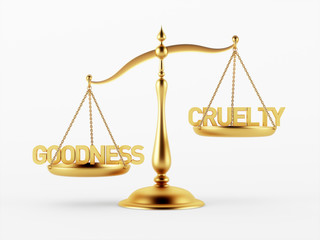 Goodness and Cruelty Justice Scale Concept