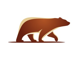 bear logo,eco technology symbol,animal mammal icon