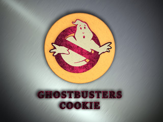 Ghostbusters Cookie