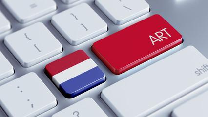 Netherlands Art Concept