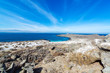 Leinwanddruck Bild - Bay and Blue Water on Damas Island