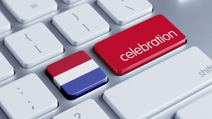 Netherlands Celebration Concept