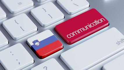 Slovenia  Communication Concept.
