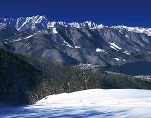 North Alps, Nagano Prefecture, Japan.