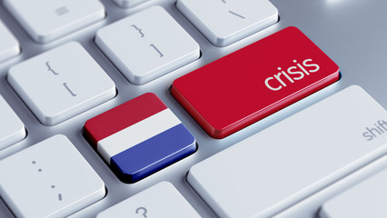 Netherlands Crisis Concept.
