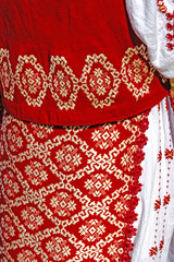 Romanian traditional female costume 1