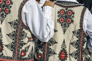 Romanian traditional male costume 1