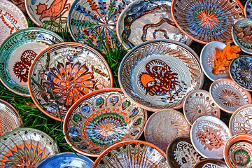 Romanian traditional pottery 1
