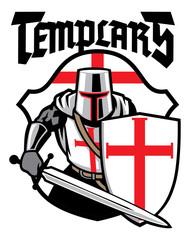 templar knight mascot