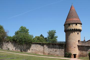 Les remparts de Cluny