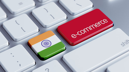 India E-Commerce Concept