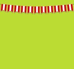 Wimpel Österreich grün