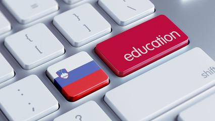 Slovenia Education Concept