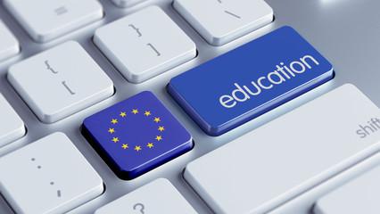 European Union Education Concept
