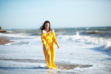 Woman at the beach