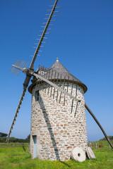 Moulin du Kériolet à la Pointe du Van dans le Finistère
