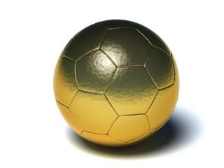 Balon Futbol oro