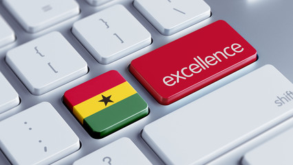 Ghana Excellence Concept