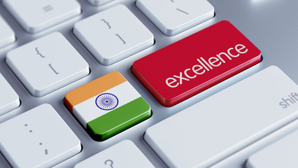 India Excellence Concept
