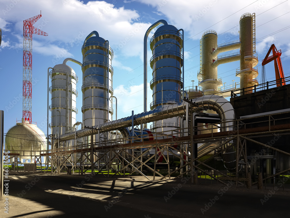 biznes inżynieria fabryka - powiększenie