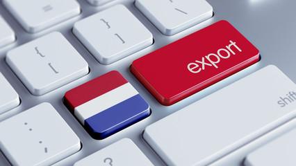 Netherlands Export Concept