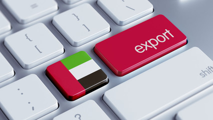 United Arab Emirates. Export Concept