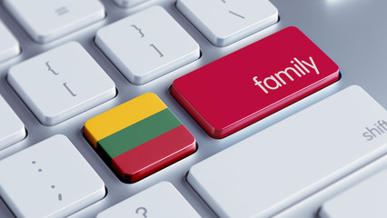 Lithuania Family Concept