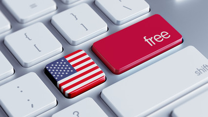 United States Free Concept