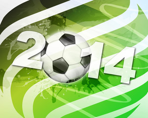 Soccer 2014 Illustration