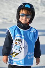 enfant ski
