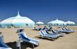 Spiaggia e ombrelloni di Rmini. 3
