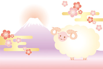 富士山 羊