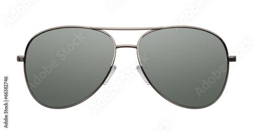 Aviator sunglasses isolated on white background - 66382746