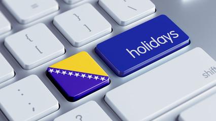 Bosnia and Herzegovina. Holidays Concept