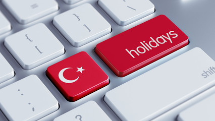 Turkey Holidays Concept