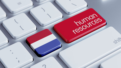 Netherlands Human Resources Concept