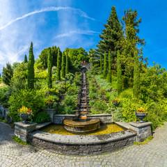 Italienische Wassertreppe, Insel Mainau