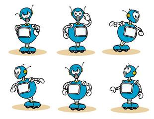 Individual mascot robot