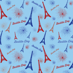 Bastille Day Pattern